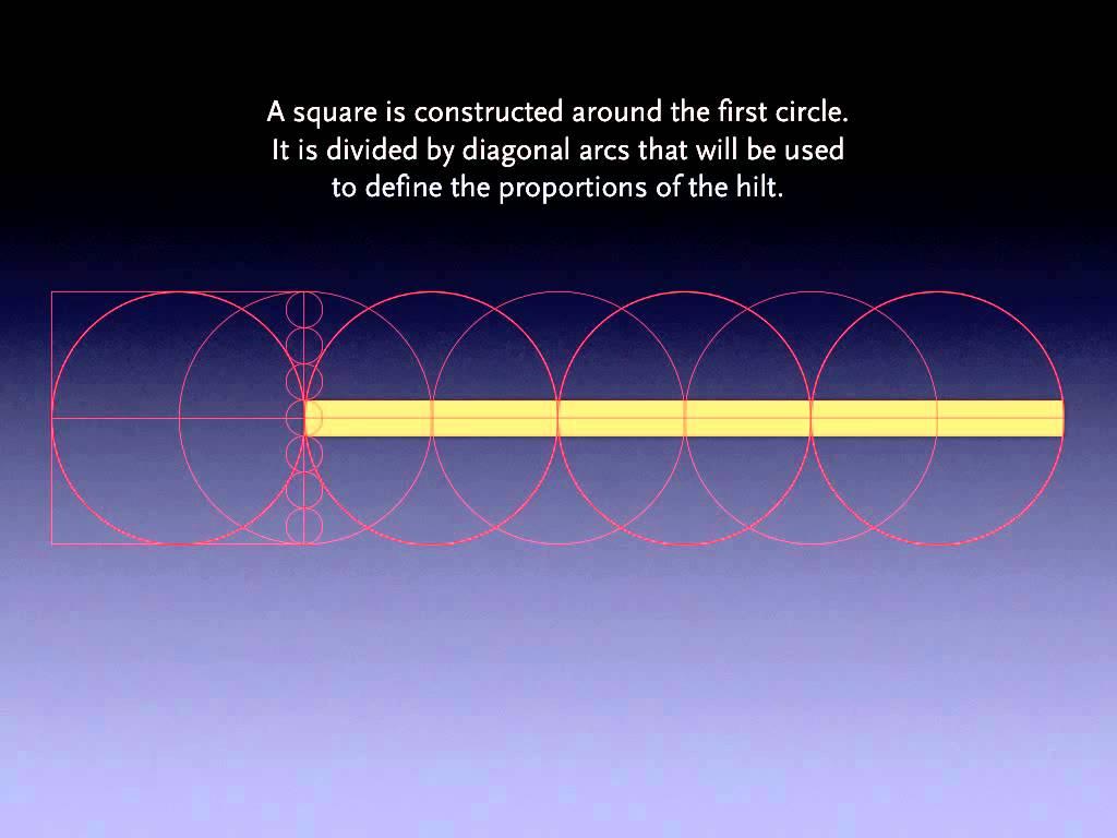 Longsword Geometry   (геометрия длинного меча)