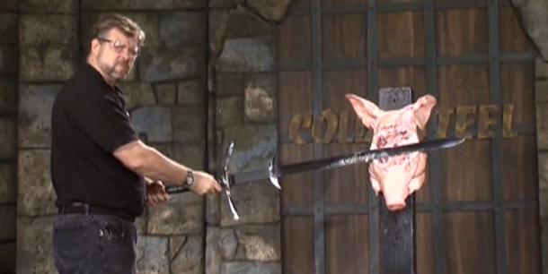 Cold Steel - Two Handed Great Sword (рубка разных штук